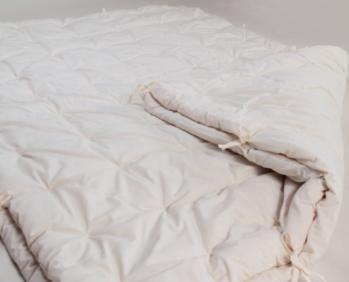 Bettwaren aus Naturmaterialien
