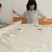 Schlafstörungen - hilft die richtige Decke?