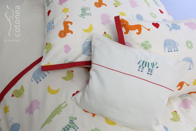 Kinderbettwäsche Aus Kontrollierter Bio Baumwolle