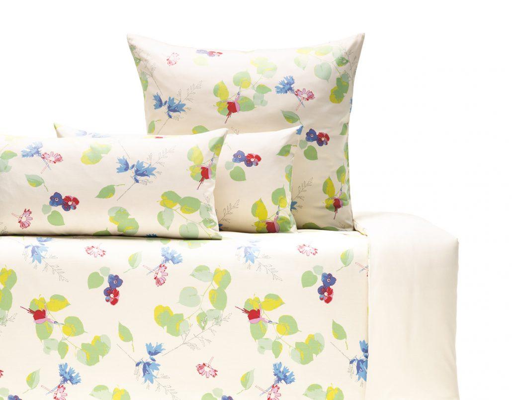 Bettwäsche Aus Bio Baumwolle Mit Wunderschönem Blumendesign