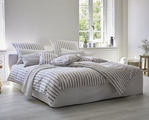 Bio-Bettwäsche - Streifen - schlafstatt