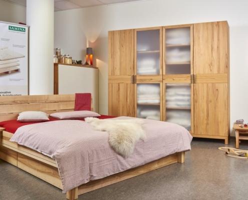 Ausstellung schlafstatt - Betten Stuttgart - Bett Carina