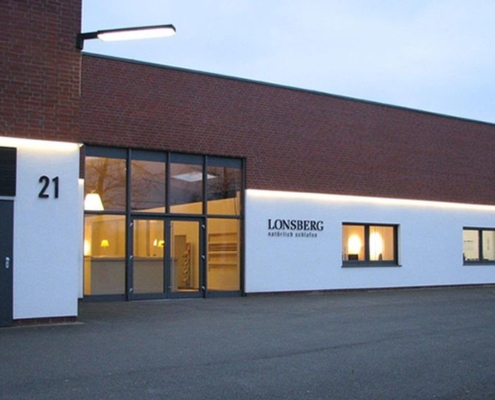 Matratzen - Lonsberg Firmengebäude